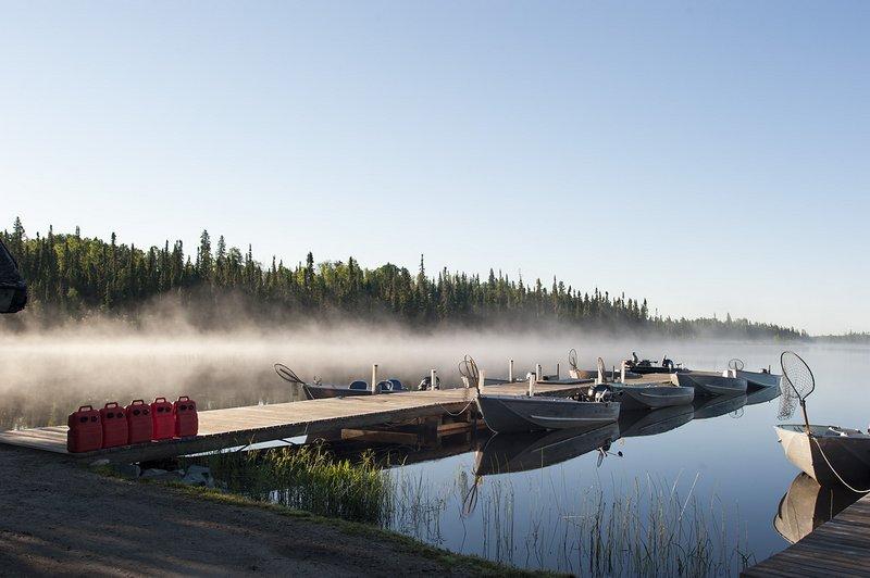 fishing boating dock stock photography