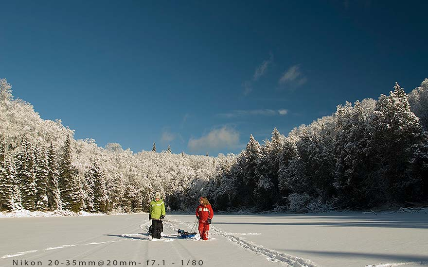 winter-snowshoeing-algoma-james smedley outdoors photography