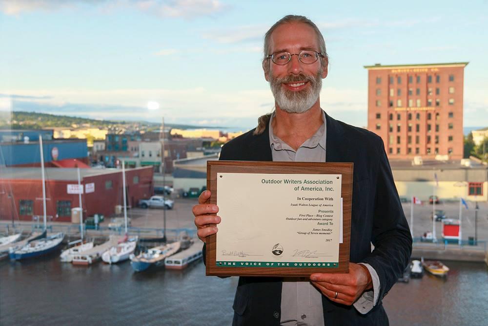 Outdoor Writers Association of America Award - James Smedley