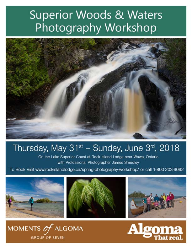 James Smedley Outdoors Phtography Workshop 2018